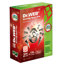 Dr.Web Security Space 1ПК на 2 года